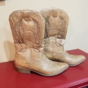 Coconuts Cowgirl boots